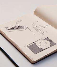 Blond-Industrial-Design-Camera-Sketch                                                                                                                                                     More