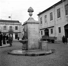Lisboa de Antigamente: Chafariz do Largo do Calvário