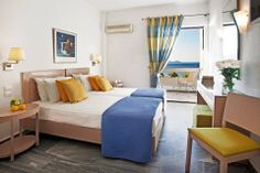 Hotel Perrakis welcomes you in Andros, on a perfect location near two beautiful beaches, on Kypri Bay. Greece Islands, Guest Room, Photo Galleries, Bed, Interior, Furniture, Home Decor, Homemade Home Decor, Stream Bed