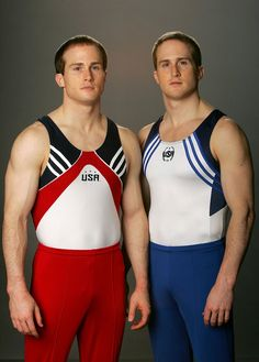 Morgan and Paul Hamm - twins, gingers, Olympic gymnasts