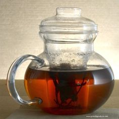 Primula Glass Stovetop Tea Pot with Infuser:Amazon:Kitchen & Dining