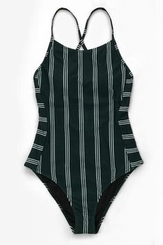 Look classy and chic in our Dark Green and White Stripe Lace-Up One-Piece Swimsu Modest Swimsuits Chic Classy dark GREEN Laceup OnePiece Stripe Swimsu White One Piece Swimsuit For Teens, One Piece Swimsuit Slimming, Swimsuits For Teens, Modest Swimsuits, Cute Swimsuits, One Piece Swimsuit Flattering, Green One Piece Swimsuit, Fashion Swimsuits, Flattering Swimsuits