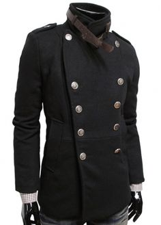 Fine Quality Turndown Collar Woolen Coat for Autumn  on sale only US$23.47 now, buy cheap Fine Quality Turndown Collar Woolen Coat for Autumn  at martofchina.com