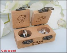 Items similar to ring box wedding ring box ring bearer box engagement ring box proposal ring box ring bearer wooden ring box rustic ring box custom ring box on Etsy Wooden Ring Box, Wooden Rings, Ring Holder Wedding, Wedding Rings, Proposal Ring Box, Ring Bearer Box, Picture On Wood, Engagement Rings, Wedding Engagement