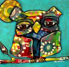 """""""Owl"""" par Suzan Buckner"""