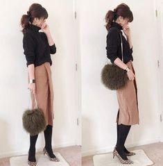 Pin on Modest fashion Pin on Modest fashion Mature Fashion, Work Fashion, Modest Fashion, Daily Fashion, Fashion Outfits, Womens Fashion, Fashion Trends, Japan Fashion, Mode Style
