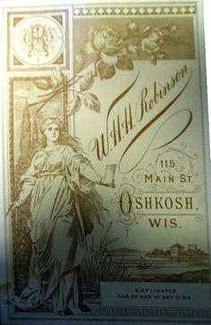 ROBINSON - Oshkosh, Wisconsin