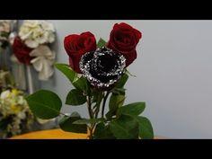 Как сделать чёрную розу - YouTube