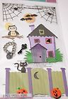 JOLEES BOUTIQUE LE GRANDE LOCK AND KEY Halloween Scrapbook Craft Stickers