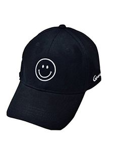 Buy Moore Cool Mens Baseball Cap Smile Adjustable Printed Unisex Hip Pop  Flat Hats (Black-Smile)  Shop top fashion brands Hats   Caps at  Cheapcapssmall. 296b5a933879