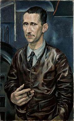 Portrait of Bertolt Brecht (1926) by Rudolf Schlichter