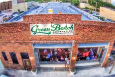 Green Bench Brewing Co in downtown St. Petersburg.