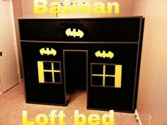 Handmade batman themed children s bed Handmade by