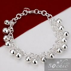 Bracelet breloque argent - H056 - So Chic