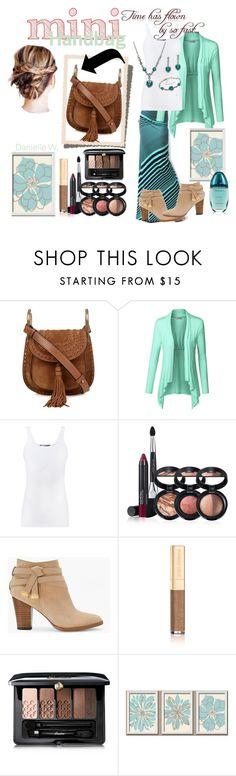 """# Mini Handbag"" by willfongdanielle ❤ liked on Polyvore featuring Chloé, Vince, Laura Geller, White House Black Market, Dolce&Gabbana, Guerlain and Calvin Klein"