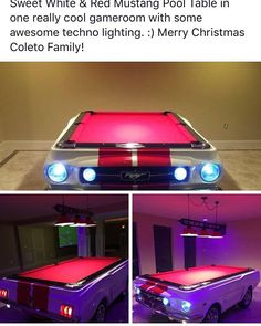 Camaro SS Pool Table By WwwCarPoolTablescom Car Pool Tables - Mustang pool table