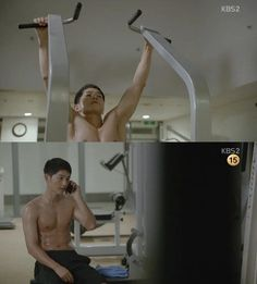 Song Joong Ki and Rain show off their sexy abs in new dramas   allkpop.com