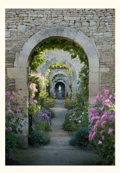 Walled garden - photo by Tessa Traeger