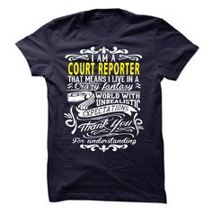 I am a Court Reporter T-Shirts, Hoodies. CHECK PRICE ==► https://www.sunfrog.com/LifeStyle/I-am-a-Court-Reporter-19260114-Guys.html?id=41382
