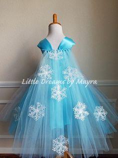 Affordable Elsa tutu dress inspired - Queen Elsa costume inspired - Snow Queen tutu dress size nb to