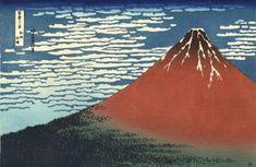 Hokusai, Mont Fuji, Art Asiatique, Drawings, Illustration, Painting, Images, Van, Tattoo