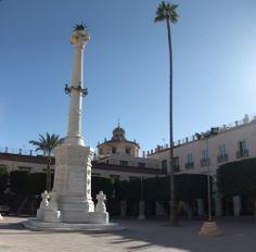 Almería - Plaza Vieja - photo: Robert Bovington  #Almeria #Andalusia #Spain #España http://bobbovington.blogspot.com.es/2013/05/almeria-by-robert-bovington.html
