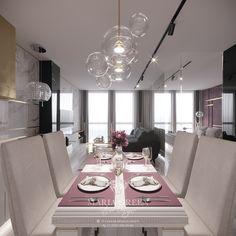 An apartment with electrochromic glass walls – Maria Green – Interior Designer Luxury Interior, Interior Design, Smart Glass, Apartment Design, White Marble, Design Projects, Kitchen Design, Glass Walls, Modern