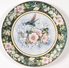 Franklin Mint Hummingbirds: The Rivoli Hummingbird - Royal Doulton - Artist: Theresa Politowicz