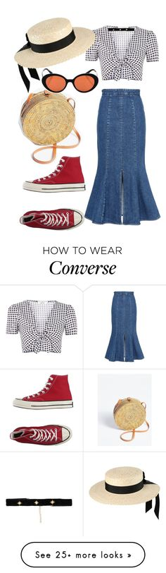 """""""Untitled #1034"""" by veronice-lopez on Polyvore featuring STELLA McCARTNEY, Topshop, Converse, Mich Dulce, Free People, Oliver Peoples and Bartoli"""