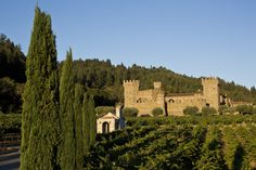 """Dario Sattui Builds a Castle to House His California Winery"" - Wall St Journal"