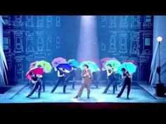 Singing in the Rain - Royal Variety Performance 2011  SO ADORABLE! I love Singin' in the Rain, but I had no idea that there is was a theatre musical of it running right now! I was grinning and giggling through the whole video.