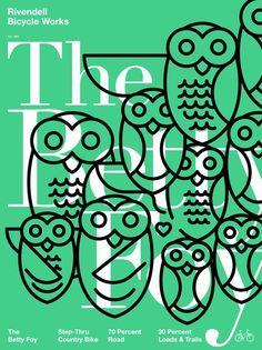 Daniel Blackman Rivendell Bicycle Works Posters — Designspiration