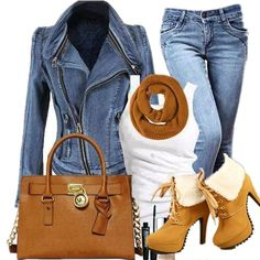 Für das wochenende jean outfits fashion, trending outfits и Casual Winter Outfits, Winter Boots Outfits, Fall Outfits, Summer Outfits, Outfit Winter, Mode Outfits, Jean Outfits, Chic Outfits, Fashion Outfits