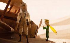 """Cena de """"O Pequeno Príncipe"""", de Mark Osborne"""