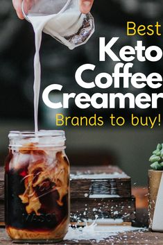 Low Carb Coffee Creamer: 7 Great Keto Options to Buy Our top picks for the best keto coffee creamer store bought options that pack the most necessary ingredients and supplements to make you a fat burning machine! Low Carb Coffee Creamer, Sugar Free Creamer, Smoothie Vert, Keto Coffee Recipe, Keto Approved Foods, Keto Diet Vegetables, Ketogenic Diet Starting, Vegan Keto Diet, Keto Diet Benefits