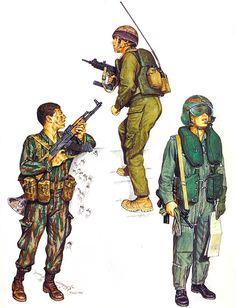 • Commando, SAYERET MAT'KAL; Entebbe, July 1976  • Commando SAYERET GOLANI; Misgav Am, Apr. 1980  • Helicopter pilot, Unit 669, 1984