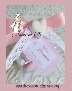 BOMBONIERE CRESIMA girl GIRL CONFIRMATION FAVOUR