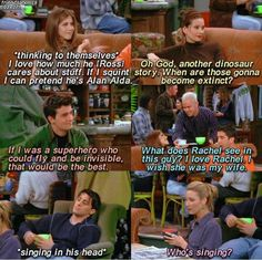 This is one of the best scene Friends Funny Moments, Friends Tv Quotes, Friends Scenes, Friends Episodes, Best Friends Funny, Friend Memes, Friends Show, Stupid Funny Memes, Funny Quotes