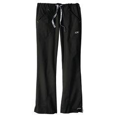 IguanaMed Women's Quattro Flare Scrub Pant - Eclipse Black(Xxxl)