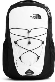 The ultimate on-the-go pack, the redesigned Jester daypack from The North Face doesn't play around when it comes to protecting and organizing your gear. Available at REI, Satisfaction Guaranteed. North Face Backpack School, Black North Face Backpack, Cute Backpacks For School, Trendy Backpacks, Leather Backpacks, Leather Bags, Cheap School Bags, Backpack For Teens, Cute Bags