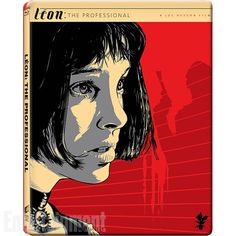 Movie Art Makeovers: 16 New Limited Edition Blu-ray Covers Unveiled Leon: The Professional movie poster (Bluray cover art). Illustration by Jeff Boyes. Posters Vintage, Pop Art Posters, Movie Poster Art, Vintage Art, Leon Matilda, The Professional Movie, Mathilda Lando, Kunst Poster, Alternative Movie Posters