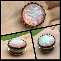 I want these. Opal plugs
