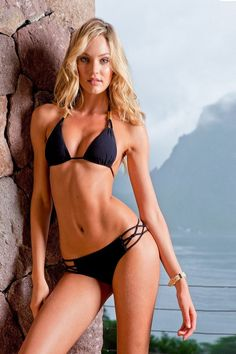 Candice Swanepoel looks amazing in Sauvage swimwear collection for Sauvage offers the hottest looks with gorgeous and fabulous styles,. Bikini Luxe, Black Bikini, Bikini Set, Black Swimsuit, Sauvage Swimwear, Swimwear 2015, Marisa Miller, Lingerie Plus Size, Hot Lingerie