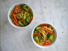 Friday: Vegetarian Noodle Stir-Fry | Here's How To Make A Week Of Vegan Dinners For $20