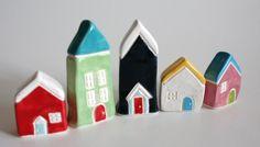 miniature #ceramic #houses