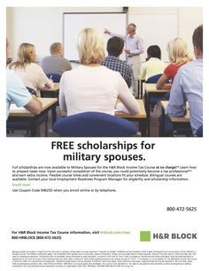 Marion's Blog: The H&R Block Tax Class