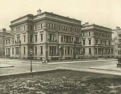 640 Fifth Avenue, before Horace Trumbauer's 1917 renovation for the Vanderbilts
