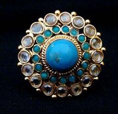Beautiful kundan ring