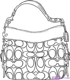 how to draw fashion illustration handbags  b8e82726a66bb