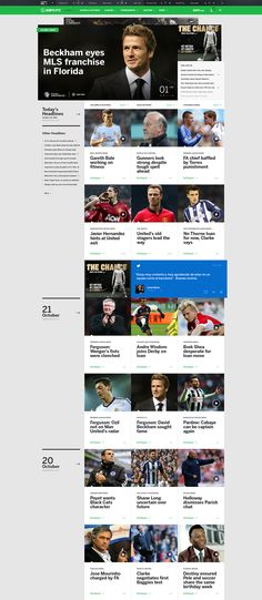 Web layout - love the blurb on the left and video screenshots in rows down the… News Website Design, News Web Design, Web News, Website Layout, Web Layout, Website Ideas, Ui Design, Page Design, Web Grid